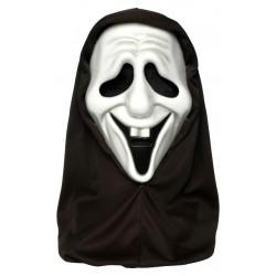 Déguisement Masque Fantôme Rieur Blanc Adulte - Costume Masque The Duck