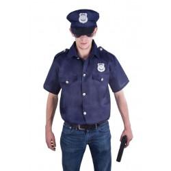 Déguisement Policier Homme Bleu - Costume Police Homme The Duck