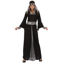 Déguisement Reine Noir Femme Médiéval - Costume Reine Femme Moyen Age The Duck