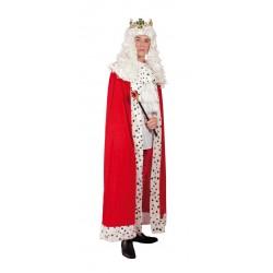 Déguisement Cape RoiHomme Rouge  - Costume Roi Homme Moyen Age The Duck