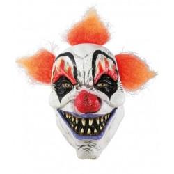 Ce masque de clown tueurpour adulte estun demi-masque, c'est a dire qu'il ne couvre que l'avant de votre visage.Des ouvertures sont présentes au niveau des yeux et de la bouche pour vous permettre de voir et de respirer confortablement.