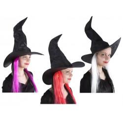 Chapeau de Sorcière Femme - Déguisement de Sorcière Femme Halloween The Duck