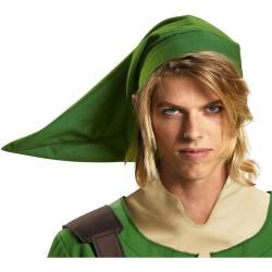 Chapeau Link Adulte vert - Bonnet pointu kokiri Adulte - Déguisement Zelda Adulte The Duck