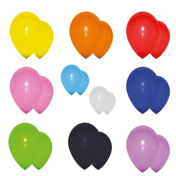 Ballons de baudruche 25cm - Décoration anniversaire ballon baudruche The Duck
