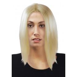 Perruque blonde à cheveux longs femme MARLENE - Déguisement star femme The Duck