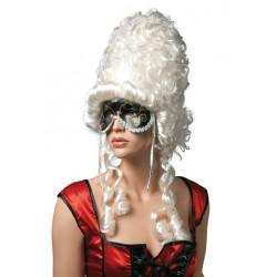 Perruque de Marquise blanche Femme