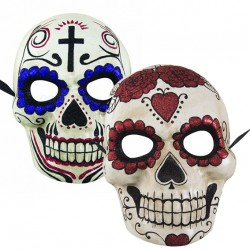 Masque Day of the Dead Adulte papier maché