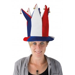 Chapeau Fou du Roi France Adulte avec clochettes