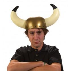 Casque de Viking Adulte avec longues cornes