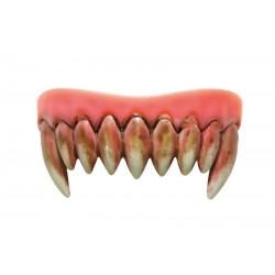 Dentier de Monstre Dents Sanglantes - Déguisement vampire adulte halloween the duck