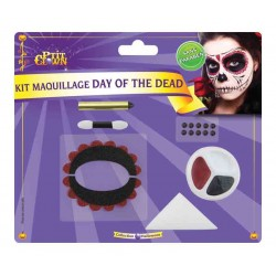 Maquillage Day of The Dead - Déguisement day of the dead halloween the duck