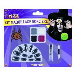 Maquillage de Sorcière Halloween - Déguisement maquillage sorcière halloween the duck