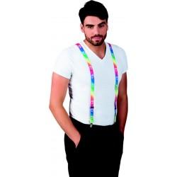 Déguisement Bretelles Hippie Adulte - Costume Bretelle The Duck