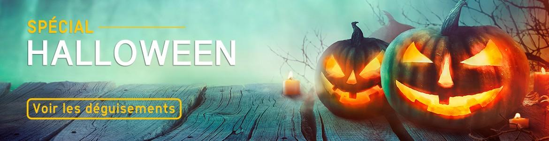 Déguisement Halloween : masques, chapeaux, maquillages et costumes