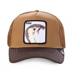 Casquette Serpent Marron King GOORIN BROS - Casquette Animaux Mode Pas Cher The Duck