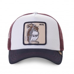 Casquette Nuts Blanche GOORIN BROS - Casquette Animaux Mode Pas Cher The Duck