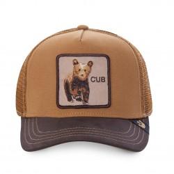 Casquette Cub Ourson GOORIN BROS - Casquette Animaux Mode Pas Cher The Duck