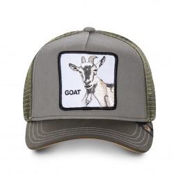 Casquette Goat Grise GOORIN BROS - Casquette Animaux Mode Pas Cher The Duck