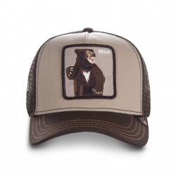 Casquette Ours Marron Bear GOORIN BROS - Casquette Animaux Mode Pas Cher The Duck