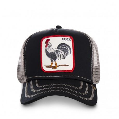 Casquette Coq Original Noire Cock GOORIN BROS - Casquette Animaux Mode Pas Cher The Duck