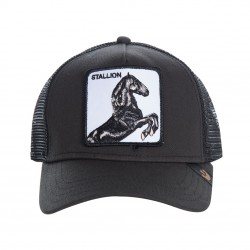 Casquette Cheval Noire StallionGOORIN BROS - Casquette Animaux Mode Pas Cher The Duck