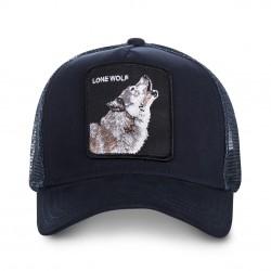 LaCasquette Lone Wolf OriginalGOORIN BROSest réglable et brodée d'un patch représentant un loup. Ce modèle à la fois simple et original de casquette à la mode, est fait pour vous !