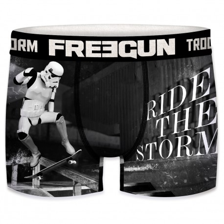 Boxer Stormtroopers Rider Homme FREEGUN - Caleçon Star Wars Collection The Duck