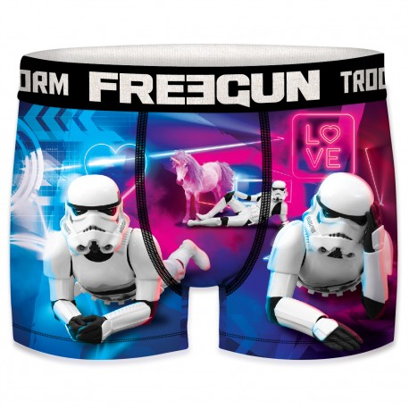 Boxer Stormtroopers Love Homme FREEGUN - Caleçon Star Wars Collection The Duck