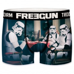 Boxer Stormtroopers Poker Homme FREEGUN - Caleçon Star Wars Collection The Duck
