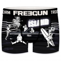 Boxer Stormtroopers Island Homme FREEGUN - Caleçon Star Wars Collection The Duck