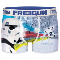 Boxer Stormtroopers Headshot Homme FREEGUN - Caleçon Star Wars Collection The Duck
