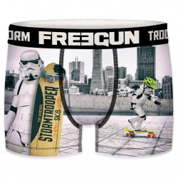 Boxer Stormtroopers Skateur Homme FREEGUN - Caleçon Star Wars Collection The Duck