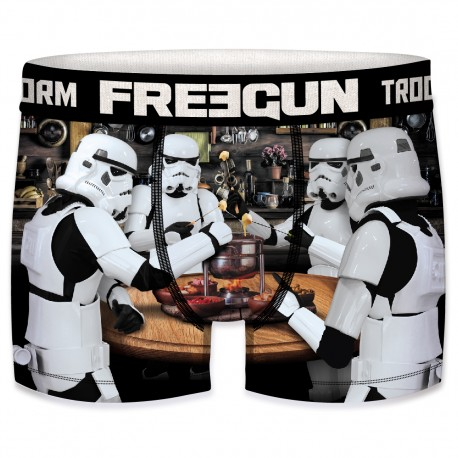 Boxer Stormtroopers Fondue Homme FREEGUN - Caleçon Star Wars Collection The Duck