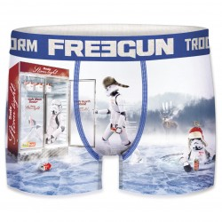 Boxer Stormtroopers Ice Homme FREEGUN - Caleçon Star Wars Collection The Duck