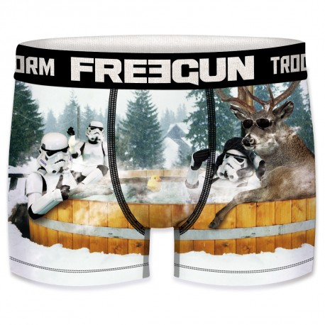 Boxer Stormtroopers Jacuzzi Homme FREEGUN - Caleçon Star Wars Collection The Duck