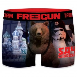 Boxer Stormtroopers Moscou Homme FREEGUN - Caleçon Star Wars Collection The Duck