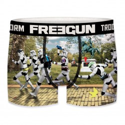 Boxer Stormtroopers Marathon Garçon FREEGUN - Caleçon Star Wars Collection The Duck