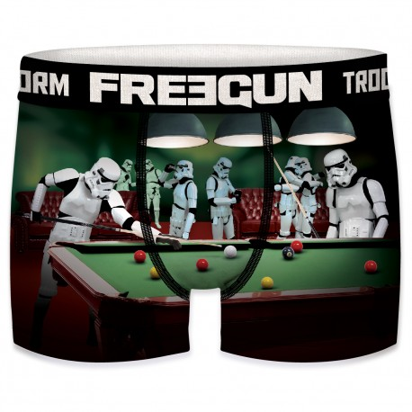 Boxer Stormtroopers Billard Garçon FREEGUN - Caleçon Star Wars Collection The Duck
