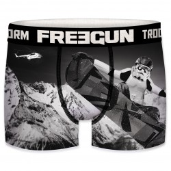 Boxer Stormtroopers Snowboard Garçon FREEGUN - Caleçon Star Wars Collection The Duck