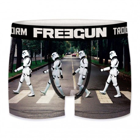 Boxer Stormtroopers Piétons Homme FREEGUN - Caleçon Star Wars Collection The Duck