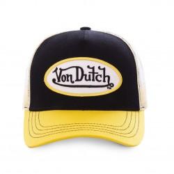 Casquette Jaune et Noir Adulte Von Dutch - Casquette Mode Von Dutch The Duck