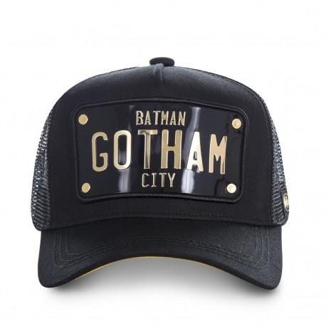 Casquette Batman Gotham City Noire Adulte - Casquette Héros de Mode The Duck