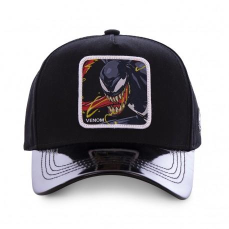 Casquette Venom Noire Adulte - Casquette Héros The Duck