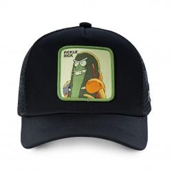 Casquette Pickle Rick Noire Adulte - Casquette Héros The Duck