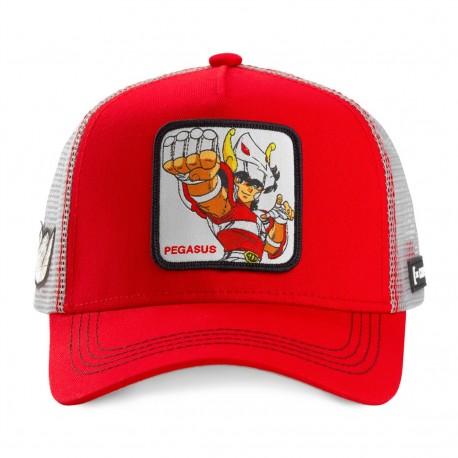 Casquette Pegasus Rouge Adulte - Casquette Héros The Duck