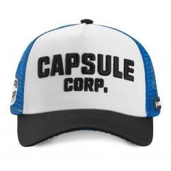 Casquette Capsule Corp DBZ Blanche Adulte - Casquette Héros The Duck