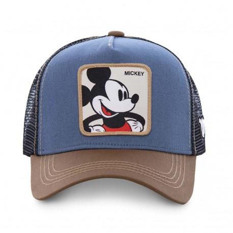 Casquette Mickey Disney Bleue Adulte - Casquette Héros The Duck