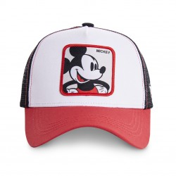 Casquette Mickey Disney Blanche Adulte Capslab - Casquette Héros The Duck