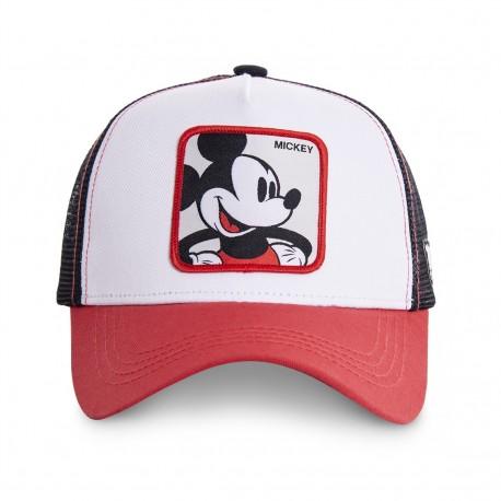 Casquette Mickey Disney Blanche Adulte Capslab - Casquette Héros The Duck