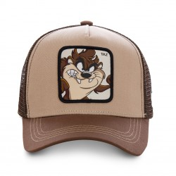 Casquette Taz Looney Tunes Marron Adulte Capslab - Casquette Héros The Duck